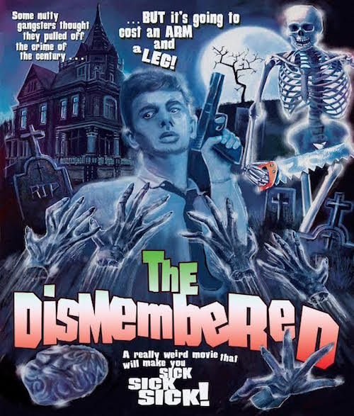 Dismembered blu ray cover